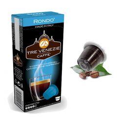 10 Capsule Ristretto Compatibili Nespresso - Caffè Tre Venezie