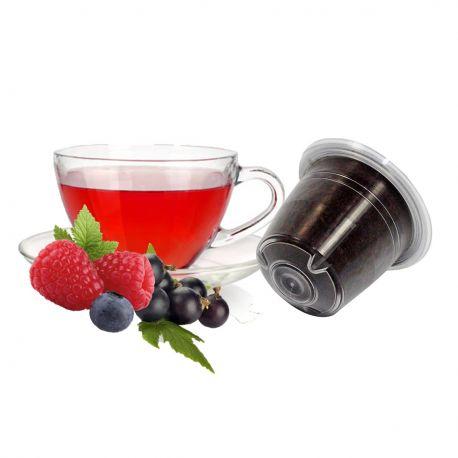 10 Tisane ai Frutti di Bosco Compatibili Nespresso