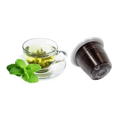 10 Tè Verde Alla Menta Compatibili Nespresso
