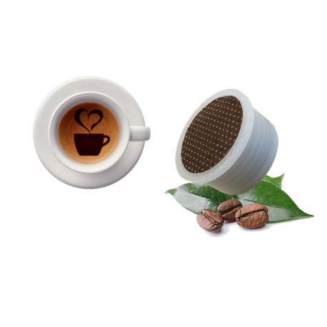 100 Capsule Caffè Aroma Leon D'Oro Tre Venezie - Compatibili Lavazza Espresso Point