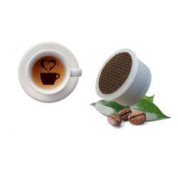 10 Capsule Caffè Aroma Leon D'Oro Tre Venezie - Compatibili Lavazza Espresso Point
