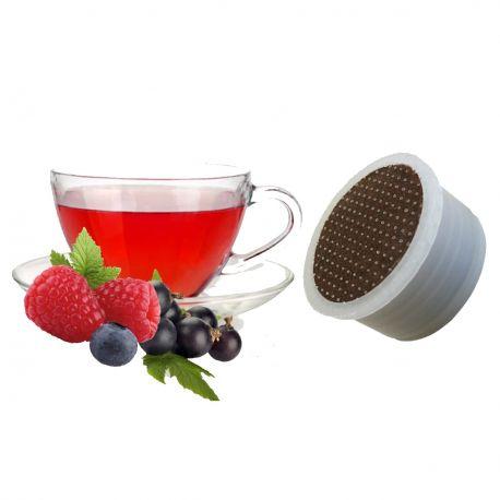 10 Tisana ai Frutti di Bosco Compatibili Lavazza Espresso Point