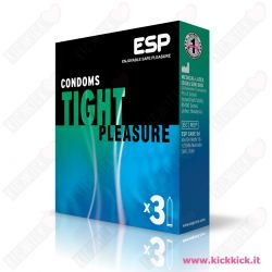 ESP Tight - Scatola da 3 Preservativi
