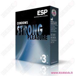 ESP Strong - Scatola da 3 Preservativi Extra Resistenti