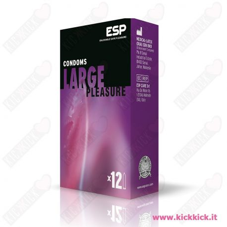Profilattici ESP Mix Pleasure Scatola da 12 Preservativi Assortiti