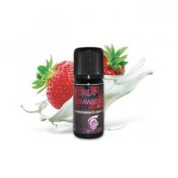 Creamy Strawberry Aroma Twisted Vaping Aroma Concentrato da 10ml per Sigarette Elettroniche