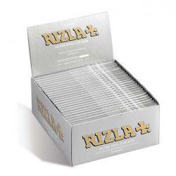 Cartine Rizla King Size Slim Lunghe Silver - 50 Pezzi