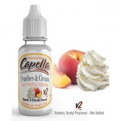 Peaches and Cream V2 Aroma Capella Flavors