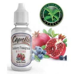 Blueberry Pomegranate With Stevia Capella Flavors