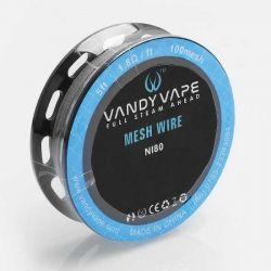 Filo per Resistenza Mesh Wire Ni80 Vandy Vape da 1,5 mt