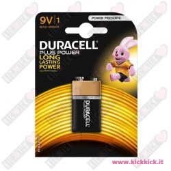 Duracell 9V Transistor Plus Power Duralock - Blister da 1 pile