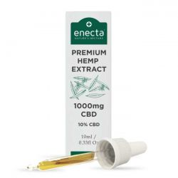 Enecta Premium Hemp Extract 1000mg. CBD 10%