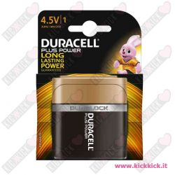 Duracell 4,5V Piatta Plus Power Duralock - Blister da 1 pila