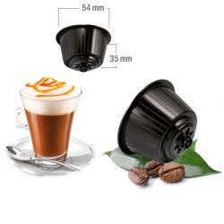 16 Cappuccino al Caramello Compatibili Nescafè Dolce Gusto