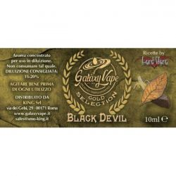 Black Devil Galaxy Vape 10 ml