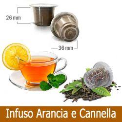 10 Tisana Infuso Arancia e Cannella Compatibili Nespresso