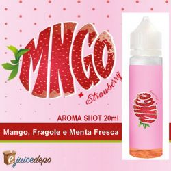 MNGO Strawberry Aroma Scomposto Ejuice Depo 50ml