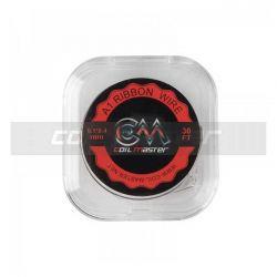 Filo Resistivo A1 Ribbon Wire Coil Master da 10mt per gli Atomizzatori Rigenerabili delle Sigarette Elettroniche