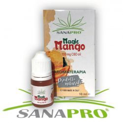 Magic Mango Aromaterapia Sanapro Liquido al CBD 100 mg da 10ml