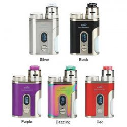 Eleaf Pico Squeeze 2 Squonk con Coral 2 Tank RDA - Box Bottom Feeder da 100W