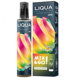 Tutti Frutti Aroma Scomposto Liqua Liquido Concentrato da 12ml Mix&Go per Sigarette Elettroniche