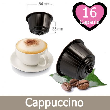 16 Cappuccino Nescafè Dolce Gusto Capsule Compatibili