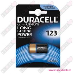 Duracell 123 Pila 3V Litio per Fotografia- Blister 1 Batterie