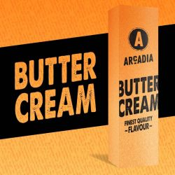Arcadia Butter Cream di Alternative Vapor Aroma Shot Series Liquido Scomposto Concentrato Vape Shot per Sigarette Elettroniche