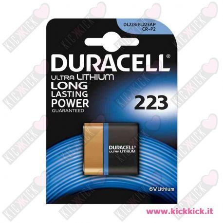 Duracell 223 Pila 6V Litio per Fotografia- Blister 1 Batterie