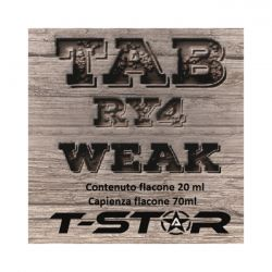 Tab RY4 Weak Aroma Scomposto T-Star Liquido da 20ml