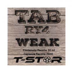 Tab RY4 Weak Aroma Scomposto T-Star Liquido da 20ml