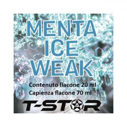 Menta Ice Weak Aroma Scomposto T-Star Liquido da 20ml