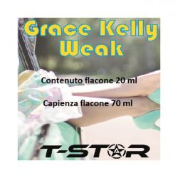Grace Kelly Weak Aroma Scomposto T-Star Liquido da 20ml