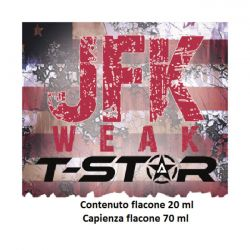 JFK Weak Aroma Scomposto T-Star Liquido da 20ml