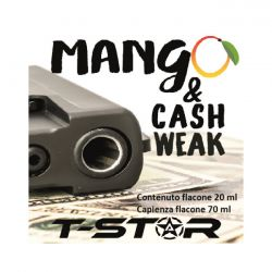 Mango & Cash Weak Aroma Scomposto T-Star Liquido da 20ml