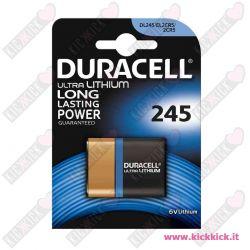 Duracell 245 Pila 6V Litio per Fotografia- Blister 1 Batterie
