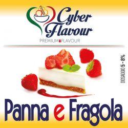 Panna e Fragola Cyber Flavour Aroma Concentrato