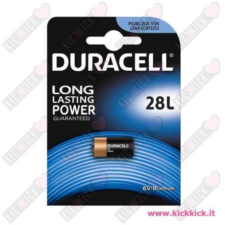 Duracell 28L 2CR1/3N Pila 6V Litio per Fotografia- Blister 1 Batterie
