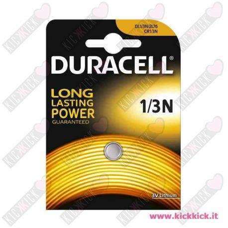 Duracell 1/3N 2L76 Pila 3V Litio per Fotografia- Blister 1 Batterie
