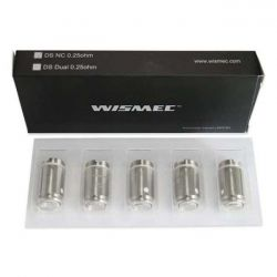 DS NC Wismec Resistenza 0.25ohm Head Coil - 5 Pezzi