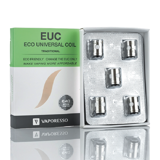 Euc Coil Traditional Clepton Vaporesso