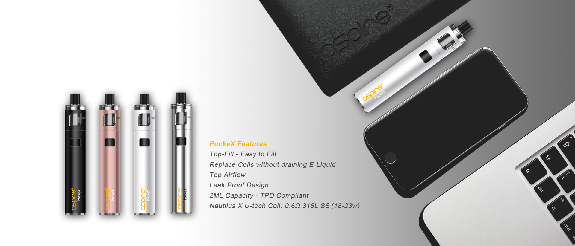 aspire pckex pocket