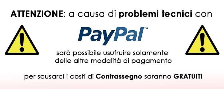 Problemi tecnici Paypal