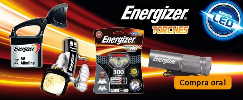 Torce Energizer