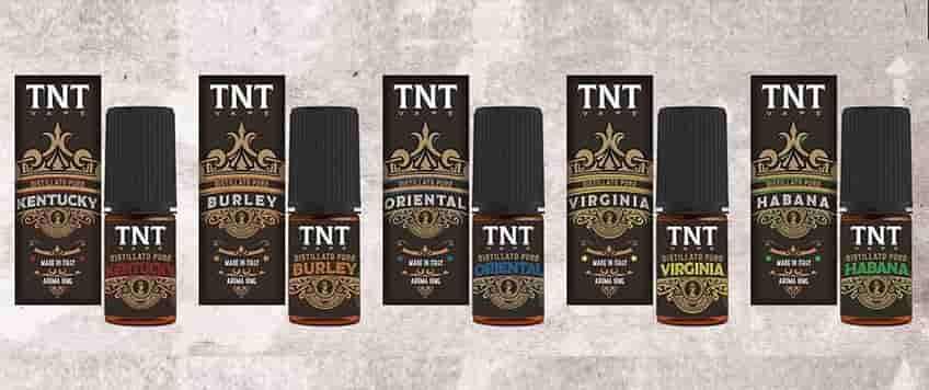 TNT Vape Aromi 10ml Distillati Puri